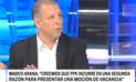 """Marco Arana sobre nuevo pedido de vacancia: """"Es para que partidos se reivindiquen"""""""