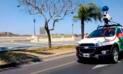 Auto de Google Maps no desea que lo persigan y chofer hace esto [VIDEO]