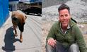 Facebook: Steve-O conoció a perrita callejera en Perú y tuvo aplaudida acción [VIDEO]