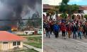 Paro agrario se agrava en Huancavelica tras intento de toma de hidroeléctrica [VIDEO]