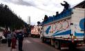 Paro de agricultores de papa: suspenden servicios de transporte interprovincial