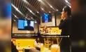 YouTube: Clientes furiosos con restaurante que transmitió por error película porno