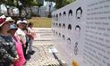 Develan mural con rostros de víctimas en rechazo al indulto a Fujimori [FOTOS]