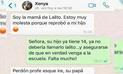 WhatsApp: Profesor pone en su sitio a madre de su estudiante que se le insinuó [FOTOS]