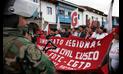 Investigan a dirigentes por protestas contra indulto