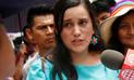 """Verónika Mendoza sobre vacancia a PPK: """"El indulto es una razón de incapacidad moral"""""""
