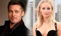 Jennifer Lawrence rompió su silencio sobre su presunta relación con Brad Pitt