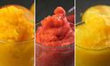 3 cremoladas: Fresa, Maracuya y Mango [Video y Receta]