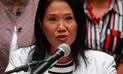 Keiko Fujimori pide a Kuczynski que dé un paso al costado