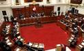 Pleno del Congreso aprueba proyecto de ley que reemplaza al DU 003