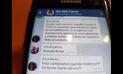 Chat confirma parcialidad de Rosa Bartra en grupo Lava Jato