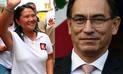 """Keiko Fujimori: """"Martín Vizcarra le debe su lealtad al Perú le guste o no a PPK"""""""