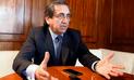 """Jorge del Castillo advirtió que vacancia llevaría a un """"nuevo salto al vacío"""" al país"""