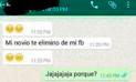 WhatsApp: Descubrió la infidelidad de su novia, pero ella asombra con su reacción [FOTOS]