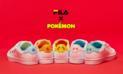 Lanzan una serie de zapatillas con diseño de Pokémon