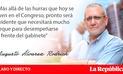 El ñeque del Premier César Villanueva