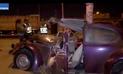 Accidente vehicular deja un muerto en Villa El Salvador [VIDEO]