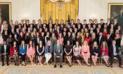 EE.UU.: critican a Donald Trump por esta foto de los becarios de la Casa Blanca