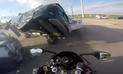 YouTube: motociclista captura accidente que pudo acabar con su vida en EEUU [VIDEO]