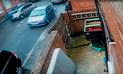 YouTube: se fuga tras accidente, con la víctima colgada sobre su auto [VIDEO]
