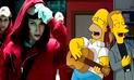 La casa de papel: La versión de 'Bella Ciao' cantada por Los Simpson [VIDEO]