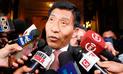 Mamani pide reprogramar cita con Fiscalía por Cumbre de las Américas