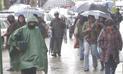Senamhi pronostica fuertes lluvias en 13 regiones desde hoy