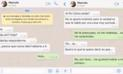 En WhatsApp: Su exnocia se comunicó con él y no te imaginas la razón