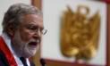 Ernesto Blume pide al fiscal Rafael Vela no presionar al TC por caso Humala