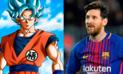 Dragon Ball Super: Alboroto por versión Super Saiyan de Lionel Messi
