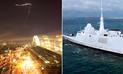Francia compartió impactante vídeo de su ataque contra Siria desde una fragata