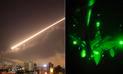 Siria: videos de lanzamientos de misiles de Estados Unidos y Francia salen a la luz