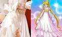 Twitter: Creó vestido de novia inspirado en Sailor Moon y resultado enamora