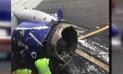 Estados Unidos ordena inspección urgente de motores tras accidente de avión