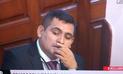 Fiscal destituido fue contratado por el Congreso como asesor de fujimorista[VIDEO]