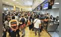 Ositran: el aeropuerto Jorge Chávez no cumple estándares de calidad
