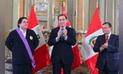 Gobierno condecora al chef Gastón Acurio en el grado de Gran Cruz