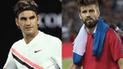 El tenso intercambio de palabras entre Roger Federer y Gerard Piqué