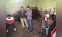 Cañete: lavadero de autos era usado como taller para clonar motos robadas