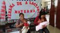 Jaén vivió la Semana de la Lactancia Materna Exclusiva