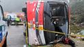 Aparatoso accidente en carretera de Ecuador deja 11 muertos [FOTOS]