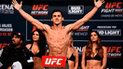 Claudio Puelles tendrá nueva pelea en la UFC