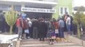 Huancayo: protestan por presunta apropiación de terrenos comunales por familiares de funcionaria