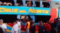 Huarmey: intentaron asaltar bus interprovincial, pero pasajeros los detuvieron [VIDEO]
