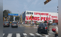 Exalcalde y candidato a la región Callao llena paredes con propaganda electoral [FOTOS]