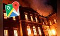 Google Maps: así lucía en Museo Nacional de Río de Janeiro antes del incendio [FOTOS]