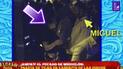 Pareja de Tilsa Lozano fue captado en discoteca con otra mujer [VIDEO]