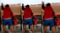 Tumbes: mujer ataca a amante de su esposo afuera de penal Puerto Pizarro [VIDEO]