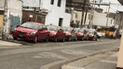 Escuela de manejo utiliza vía pública para estacionar sus vehículos