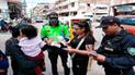 """Cajamarca: Policía ejecutó el plan de sensibilización """"Sin violencia"""""""